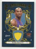 2009-10 Panini Crown Royale Kobe Bryant #1 NM Near Mint MEM 2/499