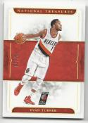 2016-17 Panini National Treasures Evan Turner #32 NM Near Mint 7/10