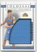2016-17 Panini National Treasures Juan Hernangomez #31 NM Near Mint MEM 60/60