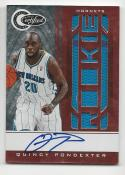 2010-11 Panini Certified Quincy Pondexter #153 NM Near Mint RC Rookie MEM Auto 36/99