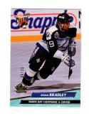 1992-93 Fleer Ultra Buyback Brian Bradley #408 NM Near Mint 6/25