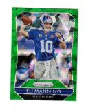2015 Panini Prizm Green Ice Eli Manning #10 NM Near Mint 55/75