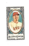 2017 Topps Allen & Ginter Black Mini Mike Trout #10 NM Near Mint