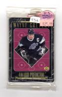 1995-96 Upper Deck Award Predictor Art Ross Sealed Redemption Set Wayne Gretzky # NM Near Mint