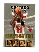 1996-97 Hoops Starting Five Michael Jordan #4 NM Near Mint