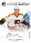 2017-18 Upper Deck SP Authentic Future Watch Samuel Morin #141 NM Near Mint RC Rookie Auto 390/999