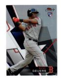 2018 Topps Finest Refractor Rafael Devers #61 NM Near Mint RC Rookie