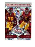 2018 Panini Contenders Cracked Ice JuJu Smith-Schuster Deontay Burnett #10 NM Near Mint 22/23