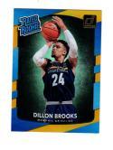 2017-18 Panini Donruss Holo Laser Orange Dillon Brooks #152 NM Near Mint RC Rookie