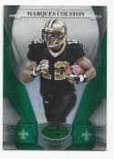 2008 Leaf Certified Emerald Marques Colston #89 NM Near Mint 2/5