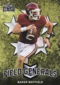 2018 Leaf Draft Field Generals Baker Mayfield #FG-01 NM Near Mint RC Rookie