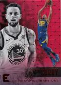 2017-18 Panini Essentials Red Stephen Curry #60 NM Near Mint