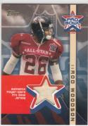 2002 Topps Pro Bowl Rod Woodson #AP-RW NM Near Mint MEM