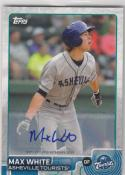 2015 Topps Pro Debut Max White #120 NM Near Mint RC Rookie Auto