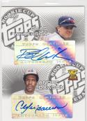 2005 Topps Rookie Cup Brad Wilkerson Andre Dawson #DRC-WD NM Near Mint Auto