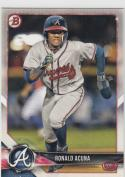 2018 Bowman Ronald Acuna #BP1 NM Near Mint RC Rookie