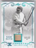2017 Leaf Immortal Collection #YB-23 Babe Ruth NM Near Mint MEM 8/20