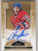 2014-15 Upper Deck The Cup #157 Sven Andrighetto NM Near Mint RC Rookie Auto 24/25
