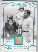 2017 Leaf Immortal Collection #YS-12 Babe Ruth NM Near Mint MEM 9/50