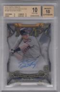 2016 Topps Tribute Ageless Acolades #AABP Buster Posey Beckett 10 Auto 20/50