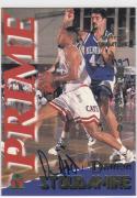 1995 Signature Rookies #38 Damon Stoudamire NM Near Mint Auto 1197/3000