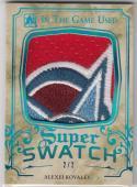 2016 Leaf ITG Super Swatch #SSP-02 Alexei Kovalev NM Near Mint MEM 2/2