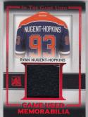 2016 Leaf ITG #GU-27 Ryan Nugent-Hopkins NM Near Mint MEM 5/5