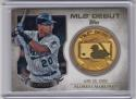 2016 Topps MLB Debut Medallion #MDM-MC Miguel Cabrera NM Near Mint