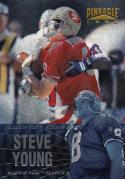 1996 Pinnacle Black N Blue #1 Steve Young NM Near Mint