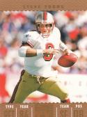 2007 Topps TX Exclusive Bronze Tickets #205 Steve Young NM Near Mint 113/149