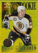 1995-96 Pinnacle Summit #194 Kyle Mclaren NM Near Mint RC Rookie