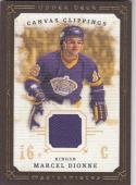 2008-09 Upper Deck Masterpieces #CC-MD Marcel Dionne NM Near Mint MEM