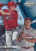 2018 Topps Gold Label #78 Rhys Hoskins NM Near Mint RC Rookie 40/50