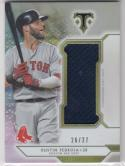 2018 Topps Triple Threads #SJR-DPE4 Dustin Pedroia NM Near Mint MEM 26/27
