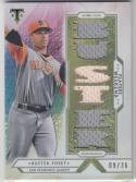 2018 Topps Triple Threads #PW-BP Buster Posey NM Near Mint MEM 9/36
