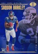 2018 Panini Illusions Blue #38 Saquon Barkley Ottis Anderson NM Near Mint RC Rookie 210/249