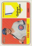 2018 Topps Heritage High Number Clubhouse Collection #CCR-KB Kris Bryant NM Near Mint MEM