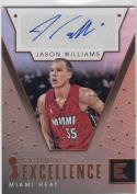2017-18 Panini Essentials #CE-JWS Jason Williams NM Near Mint Auto 45/49