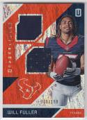 2016 Panini Unparalleled Dual Jersey #RM-WF Will Fuller NM Near Mint RC Rookie MEM 39/199