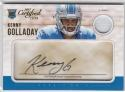 2017 Panini Certified Cuts Auto Jersey #236 Kenny Golladay NM Near Mint RC Rookie MEM Auto 16/299