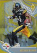 2018 Panini Phoenix Yellow #84 Antonio Brown NM Near Mint 60/75