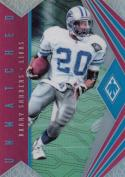 2018 Panini Phoenix Unmatched Pink #22 Barry Sanders NM Near Mint 10/199