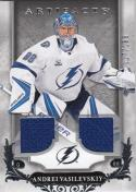 2018-18 Panini Upper Deck Artifacts #90 Andrei Vasilevskiy NM Near Mint MEM 117/165