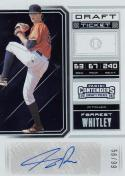 2018 Panini Contenders Draft #23 Forrest Whitley NM Near Mint RC Rookie Auto 56/99