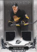 2018-19 Upper Deck Artifacts Materials Silver #133 Pavel Bure NM Near Mint MEM 20/99