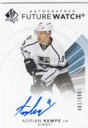 2017-18 Upper Deck SP Authentic Future Watch Autograph #118 Adrian Kempe NM Near Mint RC Rookie Auto 402/999