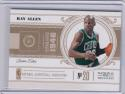 2011 Panini National Treasures #8 Ray Allen NM Near Mint 85/99