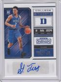 2018 Panini Contenders Draft #67 Gary Trent Jr NM Near Mint RC Rookie Auto