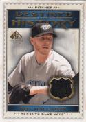 2009 Upper Deck SP Legendary Cuts Destined for History #DHM-RH Roy Halladay NM Near Mint MEM