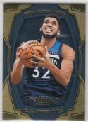 2018-19 Panini Dominion Gold #89 Karl-Anthony Towns NM Near Mint 15/25